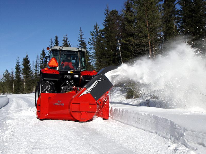 VAMA Product - Fixed chute Leppä snow throwers
